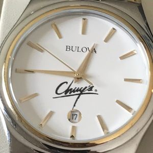 Bulova Men's Two-Tone Bracelet Watch #98B108 !!!